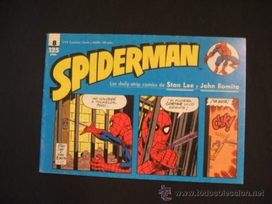 SPIDERMAN - Nº 8 - TIRAS DE PRENSA - STAN LEE - JOHN ROMITA - FORUM - (Tebeos y Comics - Forum - Spiderman)