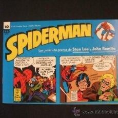 Cómics: SPIDERMAN - Nº 10 - TIRAS DE PRENSA - STAN LEE - JOHN ROMITA - FORUM - . Lote 37128022