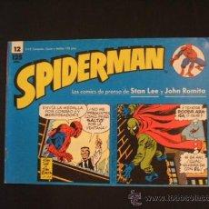 Cómics: SPIDERMAN - Nº 12 - TIRAS DE PRENSA - STAN LEE - JOHN ROMITA - FORUM - . Lote 37128102