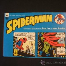 Cómics: SPIDERMAN - Nº 12 - TIRAS DE PRENSA - STAN LEE - JOHN ROMITA - FORUM - . Lote 37128143