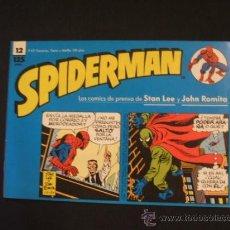 Cómics: SPIDERMAN - Nº 12 - TIRAS DE PRENSA - STAN LEE - JOHN ROMITA - FORUM - . Lote 37128154