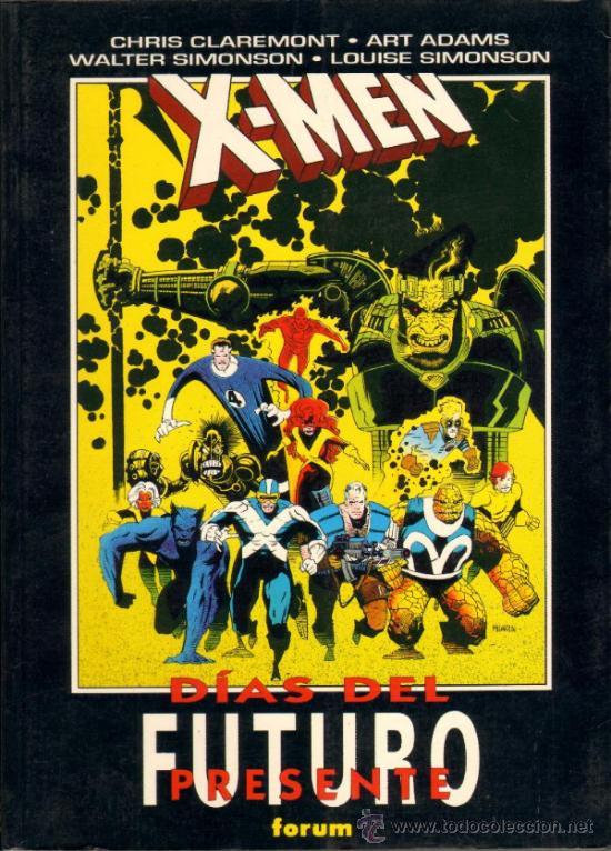 TEBEOS-COMICS GOYO - X MEN - ESPECIAL - DIAS DEL FUTURO PRESENTE *AA99 (Tebeos y Comics - Forum - Prestiges y Tomos)