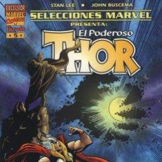 Cómics: SELECCIONES MARVEL Nº 5 Y 6 - THOR CONTRA ODIN Y LOKI TRIUNFANTE - FORUM 1999 STAN LEE JOHN BUSCEMA. Lote 47985415