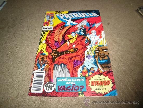 LA PATRULLA X Nº 123 FORUM 1992 (Tebeos y Comics - Forum - Patrulla X)