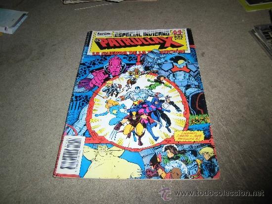 LA PATRULLA X LA GUERRA DE LA EVOLUCION ESPECIAL INVIERNO 1988 CON EL POSTER CALENDARIO 1989 (Tebeos y Comics - Forum - Patrulla X)