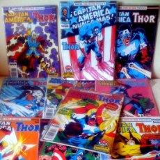Cómics: LOTE COMICS CAPITAN AMERICA-THOR (10 NUMEROS). Lote 26509161