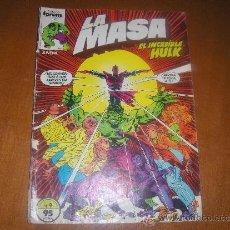 Cómics: LA MASA Nº 9. FORUM . Lote 37295335