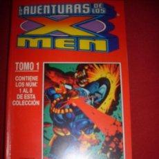 Cómics: FORUM RETAPADOS LAS AVENTURAS DE LOS X-MEN TOMO 1 Y 2 COMPLETA COMO NUEVO. Lote 37307553