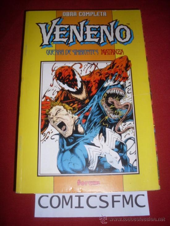 FORUM VENENO GUERRA DE SIMBIONTES 1 A 4 Y MATANZA 1 AL 4 OBRA COMPLETA COMO NUEVO (Tebeos y Comics - Forum - Retapados)