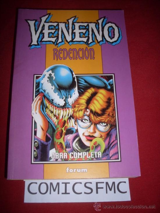 FORUM VENENO REDENCION 1 AL 5 OBRA COMPLETA COMO NUEVO (Tebeos y Comics - Forum - Retapados)