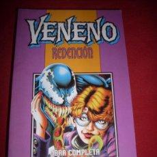 Cómics: FORUM VENENO REDENCION 1 AL 5 OBRA COMPLETA COMO NUEVO. Lote 37308396