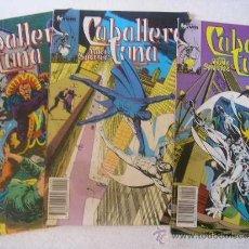 Cómics: LOTE CABALLERO LUNA Nº 4 - 9 Y 10. Lote 37333250