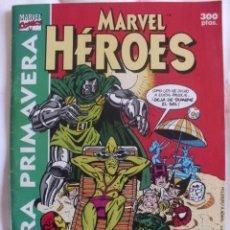 Cómics: MARVEL HEROES EXTRA PRIMAVERA 1991 66 PAGINAS. Lote 37382436