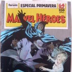 Cómics: MARVEL HEROES ESPECIAL PRIMAVERA 1989 66 PAGINAS. Lote 37382575