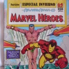 Cómics: MARVEL HEROES ESPECIAL INVIERNO 64 PAGINAS. Lote 37382629
