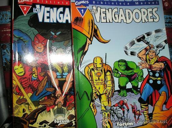 BIBLIOTECA MARVEL - LOS VENGADORES - 32 NÚMEROS - COMPLETA (Tebeos y Comics - Forum - Vengadores)