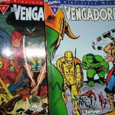 Cómics: BIBLIOTECA MARVEL - LOS VENGADORES - 32 NÚMEROS - COMPLETA. Lote 37389871