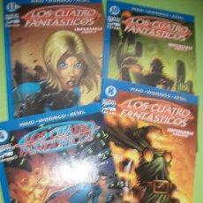Cómics: LOTE 4 COMICS - LOS 4 FANTASTICOS - WAID - WIERINGO - KESEL - #4, #8, #10, #11 - CASTELLANO. Lote 37412583