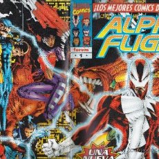 Cómics: ALPHA FLIGHT 1 AL 5.+ TOMO + ESPECIAL. Lote 37455248