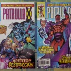 Cómics: LA PATRULLA X VOL II NUMERO 29 Y VOL II NUMERO 46 COMICS FORUM.. Lote 37474242