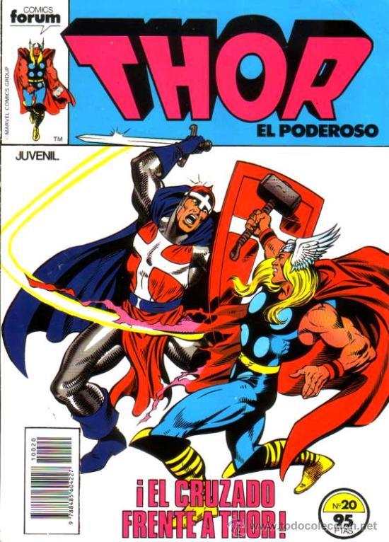 THOR VOL.1 # 20 (FORUM,1984) (Tebeos y Comics - Forum - Thor)