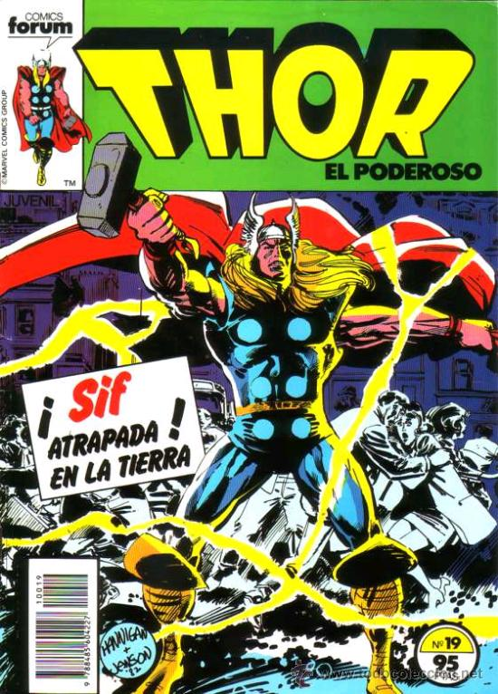 THOR VOL.1 # 19 (FORUM,1984) (Tebeos y Comics - Forum - Thor)