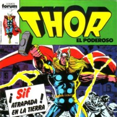 Cómics: THOR VOL.1 # 19 (FORUM,1984). Lote 37480351