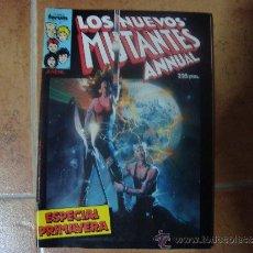 Cómics: LOS NUEVOS MUTANTES ANNUAL - ESPECIAL PRIMAVERA 1987. Lote 37487219