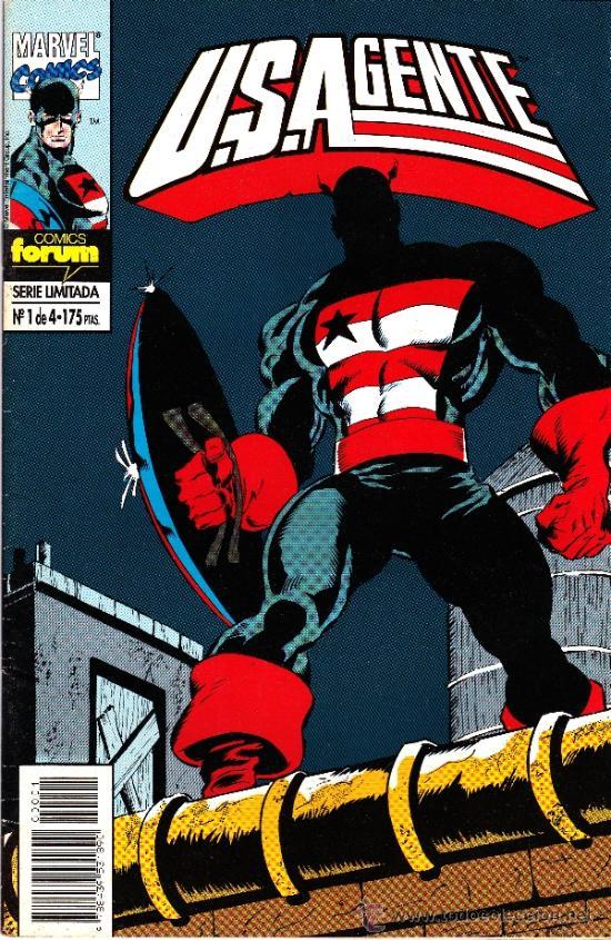 U.S.AGENTE. 3 NUMEROS DE LA MINISERIE DE 4 (Tebeos y Comics - Forum - Capitán América)