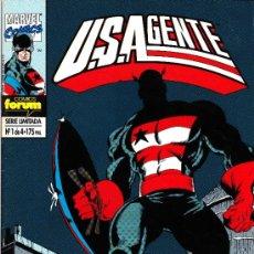 Cómics: U.S.AGENTE. 3 NUMEROS DE LA MINISERIE DE 4. Lote 43713671
