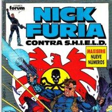 Cómics: NICK FURIA CONTRA SHIELD. NUMERO 1 DE LA MAXISERIE DE 9. Lote 37493353