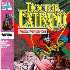 Cómics: DOCTOR EXTRAÑO. VERSOS VAMPIRICOS. 1, 4 Y 5 DE LA SERIE LIMITADA DE 5 . Lote 37493387