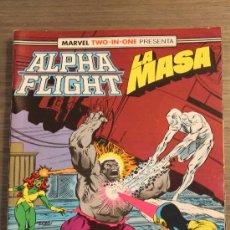 Cómics: ALPHA FLIGHT 52 VOLUMEN 1 CON LA MASA FORUM. Lote 199552600