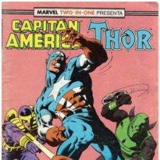 Cómics: COMIC MARVEL TWO-IN-ONE: CAPITAN AMERICA / THOR, Nº 65. Lote 37595546