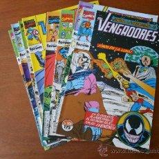 Cómics: LOS VENGADORES LOTE DEL Nº 101 AL 108 (8 NÚMEROS CONSECUTIVOS) COMICS MARVEL FORUM, COMO NUEVOS. Lote 37611613