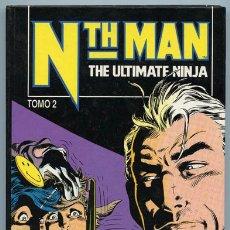 Cómics: NTH MAN, THE ULTIMATE NINJA - TOMO 2 - NºS 9 AL 16 - CÓMICS FORUM - 1992. Lote 37624015