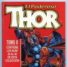 Cómics: THOR - TOMO 8 - NºS 36 AL 40 - COMICS FORUM. Lote 37637180