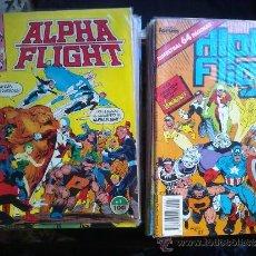 Cómics: LOTE ALPHA FLIGHT FORUM. 54 NUMS + ESPECIAL NAVIDAD 87. SEMI COMPLETA TEBENI MBE. Lote 37699646
