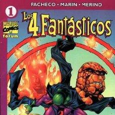 Cómics: LOS 4 FANTASTICOS VOLUMEN 4, LOTE DE 13Nº. Lote 37814058