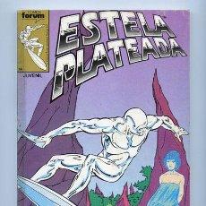 Cómics: ESTELA PLATEADA - RETAPADO - NºS 1-2-3-4-5 - COMICS FORUM - 1989. Lote 37838686