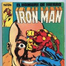 Cómics: EL HOMBRE DE HIERRO - IRON MAN - RETAPADO - NºS 16-17-18-19-20 - COMICS FORUM. Lote 37838877