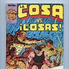 Cómics: LA COSA - RETAPADO - NºS 11-12-13-14-15 - COMICS FORUM - 1990. Lote 37839030