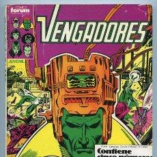 Cómics: LOS VENGADORES - RETAPADO - NºS 46-47-48-49-50 - COMICS FORUM - 1987. Lote 37841723