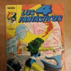 Cómics: LOS 4 FANTASTICOS VOL.1 FORUM Nº 66 , 67 , 68 , 69 , 70 RETAPADO. Lote 188687862