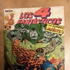 Cómics: LOS 4 FANTÁSTICOS VOLUMEN 1 DE FORUM Nº 86 , 87 , 88 , 89 , 90. Lote 37842381