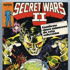 Cómics: SECRET WARS - RETAPADO - NºS 21-22-23-24-25 - COMICS FORUM - 1986. Lote 37845105