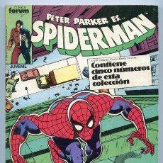 Cómics: SPIDERMAN - RETAPADO - NºS 161-162-163-164-165 - COMICS FORUM - 1988. Lote 37845682