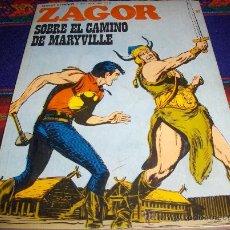 Cómics: ZAGOR Nº 57. BURU LAN 1973. 25 PTS. SOBRE EL CAMINO DE MARYVILLE. DIFÍCIL Y BUEN ESTADO!!!!!!!!!. Lote 37856764