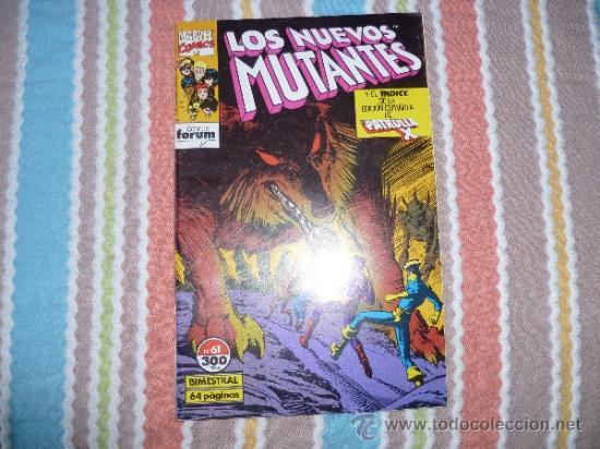 LOS NUEVOS MUTANTES VOL.1 - Nº 31 - FORUM (Tebeos y Comics - Forum - Nuevos Mutantes)