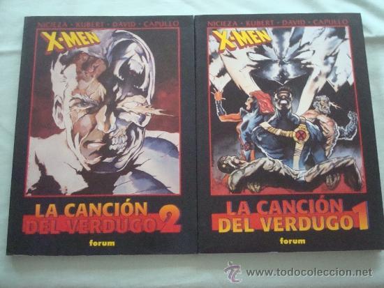 # OBRAS MAESTRAS 20 Y 21 – X-MEN – LA CANCIÓN DEL VERDUGO – 2 TOMOS, COMPLETA – FORUM (#L) (Tebeos y Comics - Forum - Prestiges y Tomos)